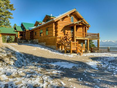 Photo for Private Hilltop Retreat Expansive Flathead Lake and Mountain Views Glacier Park