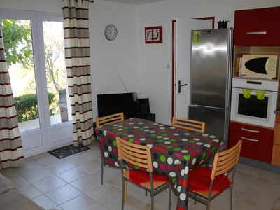 Photo for rental in the gulf of valinco in Propriano