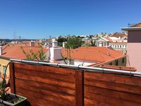 Quiet corner of Lisbon with a rooftop patio!!
