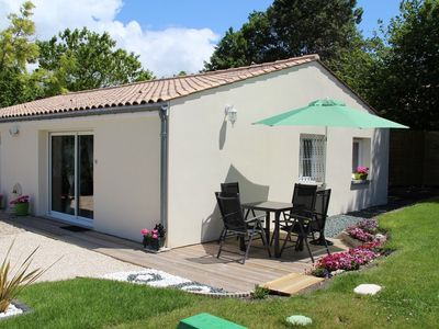 Photo for Furnished 3 * - 2 PERS-ALL COMFORT - SWIMMING POOL Heated - WIFI - CLOSE MER ROYAN