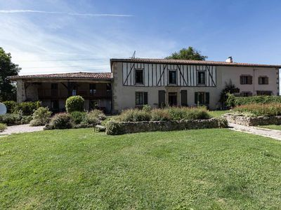 Photo for Lxury French farmhouse with pool