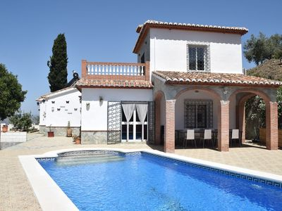 Photo for Beautiful detached villa near Arenas with delightful terrace and stunning view