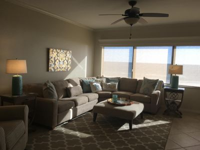 Photo for GORGEOUS 3 BEDROOM / 3 BATH - JUST NOW ON RENTAL MARKET !!  BEACH FRONT  !!