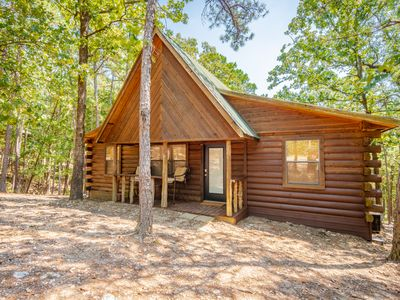 Photo for NEW! Arrowhead Cabin - Broken Bow Beavers Bend