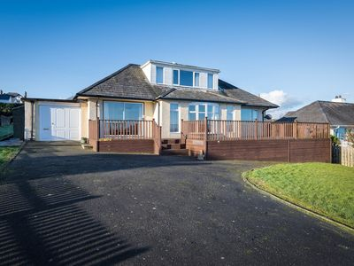 Photo for This spacious and detached dormer bungalow is desirably located in an elevated position in a quiet r