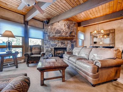 Photo for Gorgeous Mountain Condo - Summer Fun Trails/Activities/Events only 250 YDS Away