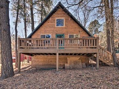 Photo for NEW! Sherwood Cabin: Pet-friendly Cloudcroft Home!
