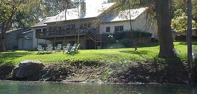 Photo for Gruene River House and Cabin on the Guadalupe! 7Bdrms/4.5Bath/Kayaks, Sleeps-28