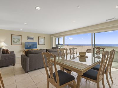 Photo for Immaculate Oceanfront Vacation Beach Home (second story unit)
