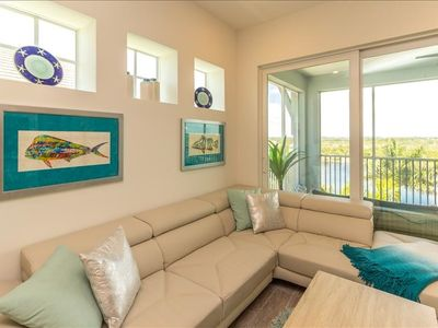 Photo for ***SALE*** BUY 4 NIGHTS, GET 1 FREE. LUXURY 3/3 PENTHOUSE CONDO ON ANNA MARIA SOUND. VALID THROUGH 12/15/19. DON'T MISS THIS 5 NIGHT SPECIAL AT ONE PARTICULAR HARBOUR. Excludes any holiday window. Offer valid for reservations prior to 12/15 arrival.