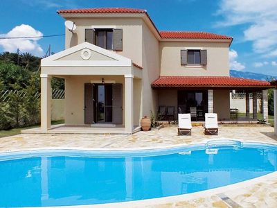 Photo for Stunning and spacious Villa with Private Pool and magnificent views to the Ionian Sea