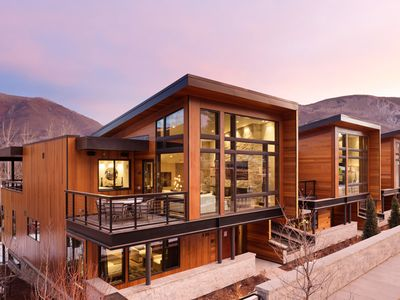 Photo for One Aspen Chalet | Private Chef Dinner Included (up to 8 guests)
