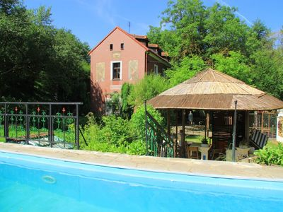 Photo for Holiday house with built-in solar heated pool