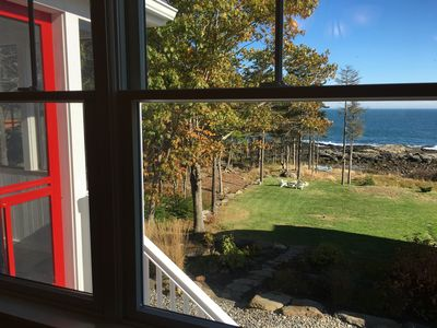 Fresh breezes and ocean views from the cottage