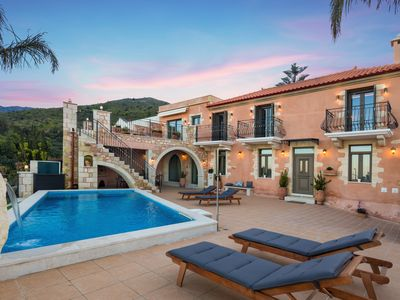 Photo for Villa Steve Kois,a dream retreat with private heated pool
