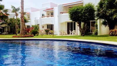 Photo for Beatufiul 3 bed Villa with shared pool in Playacar  7 min from 5th Av & beach