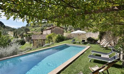 Photo for 5 bedroom Villa, sleeps 11 with Pool, FREE WiFi and Walk to Shops