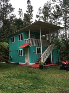 Photo for Cutest Comfy Cabin on 3 acre lime orchard in the Jungle!
