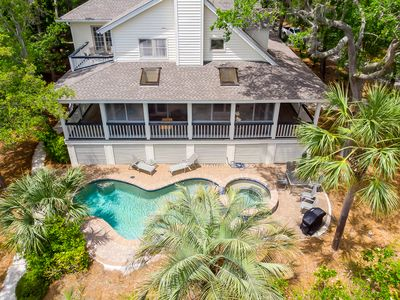 Photo for 4 Iron Clad is a 2nd row, low country style beach house in Palmetto Dunes