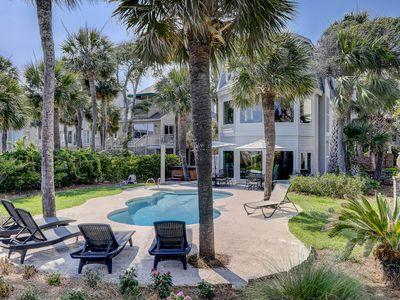 Photo for 124 N Forest Beach Ct-Oceanfront, Pool & Hot Tub