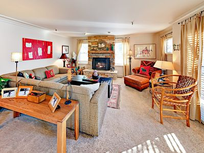 Living Room - Welcome to Park City! Your condo is professionally managed by TurnKey Vacation Rentals.