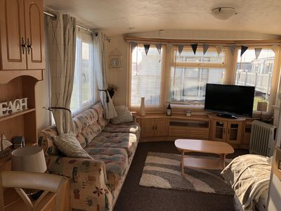 Photo for Wheelchair accessible 6 Berth Luxury Caravan on Golden Palm Resort Chapel