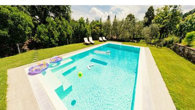 Photo for Villa with private pool in Lucca, special offers!