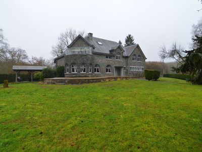 Photo for Superb Manoir for families with sauna and Jacuzzi in the heart of the Ardennes