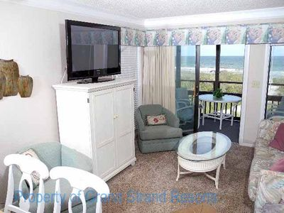 Photo for Tilghman Beach and Racquet Club Unit: 108! Oceanfront 3 Bedroom Condo. Book now for best rates!