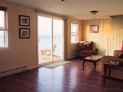 Photo for Lake Front 4 Bedroom Pet Friendly On the Water AC, Cable, Wifi, Firepit