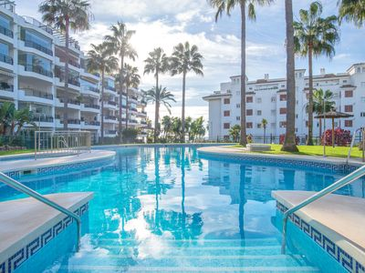 Photo for Apartment Mi Capricho with Pool, Air Conditioning, Balcony & Wi-Fi; Parking Available