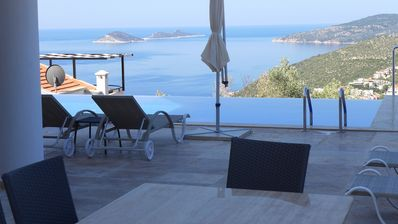 Photo for Luxury stylish 5 bedroom villa in a quiet location with wonderful sea views