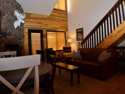 Photo for Rocky Mountain Ski Condo with Loft, Heated Pool & Hot Tubs, Sleeps 8
