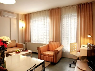 Photo for Deluxe Serviced Apartment in City Center Istanbul. Serviced  Furnished Flat