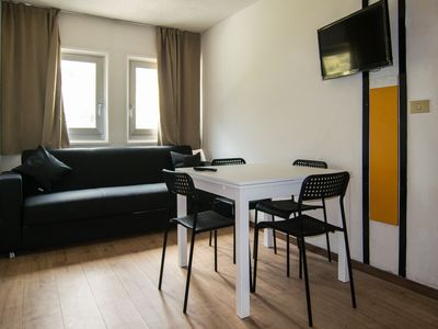 Photo for Three rooms 300m from the lifts of Passo del Tonale