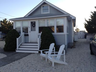 Photo for Quaint and charming OCEAN BLOCK  6 houses to beach May 28-June 7 $1295 7 nights