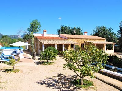Photo for ENCHANTING RUSTIC VILLA FULLY EQUIPPED IN LLUCMAJOR IDEAL FAMILIES