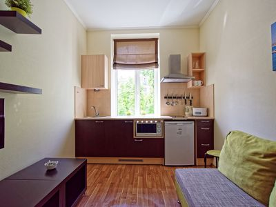 One bedroom Family apartment in the center of Riga