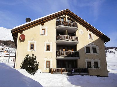 Photo for Apartment Chesa Mezzaun  in Zuoz, Engadine - 4 persons, 2 bedrooms