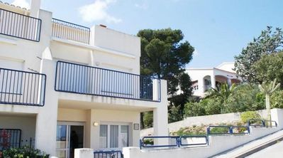 Photo for 80 m2 apartment with private garden and panoramic sea views