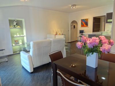 Photo for Pleasant 2 rooms contemporary style at 100 m from the sea