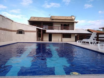 Photo for Large pool / barbecue house in Araruama