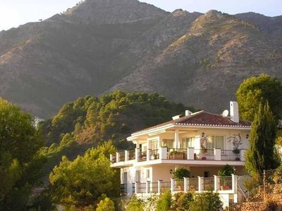 Photo for 6 Bedroom Villa with Sea and Mountain Views in Mijas
