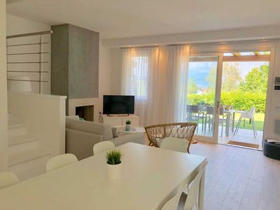 Photo for Italy Living Villa with Exclusive Lake Garda View