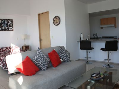Photo for Modern and Sunny Loft in front of Roma Norte