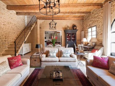 Photo for Village Home near Uzès; Spacious, Stylish, Private Pool