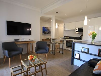 Photo for Liberation: luxurious 2 beds flat, balcony, 400m from central station
