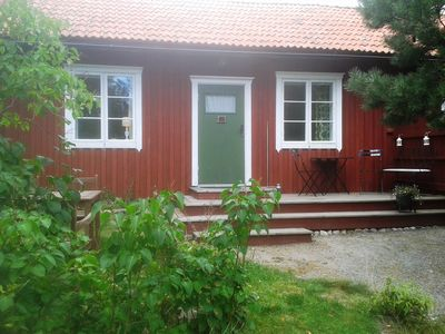 Photo for Stockholm archipelago, lakeside cottage with all the convenience and garden