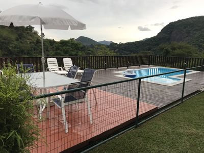 Photo for Excellent house Itaipava 4 suites, pool, barbecue, generator and service.