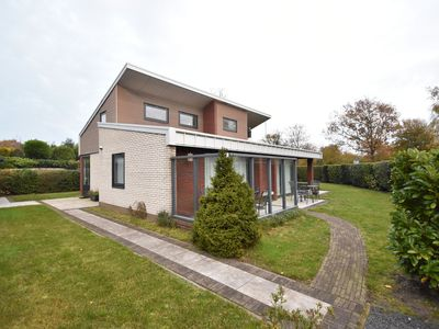 Photo for Modern holiday villa set on the Veerse Meer lake